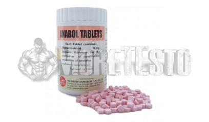 ANABOL 1000 (метан в таблетках) British Dispensary