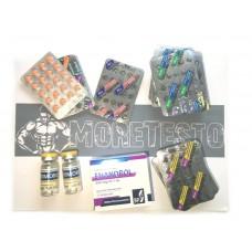 Примоболан + Тестостерон энантат + Станозолол + Туринабол