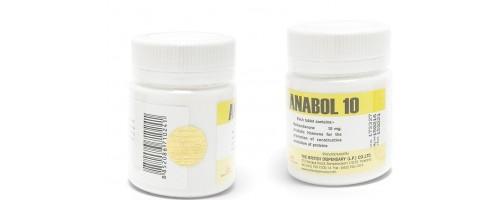 ANABOL 10 (метан Анабол в таблетках) British Dispensary