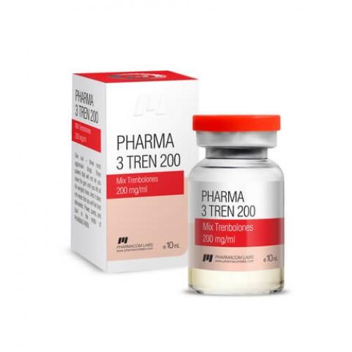 Pharma 3 Tren 200 (микс тренболонов)